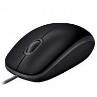 Mouse Logitech Optical B110 Silent USB Black